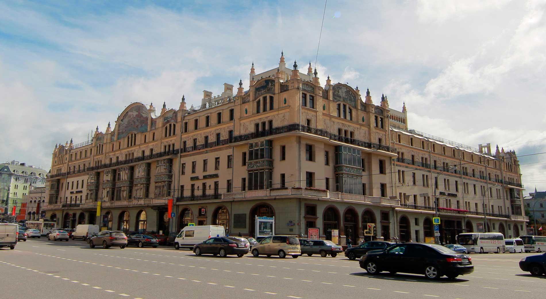 Metropol-Hotel in Moskau