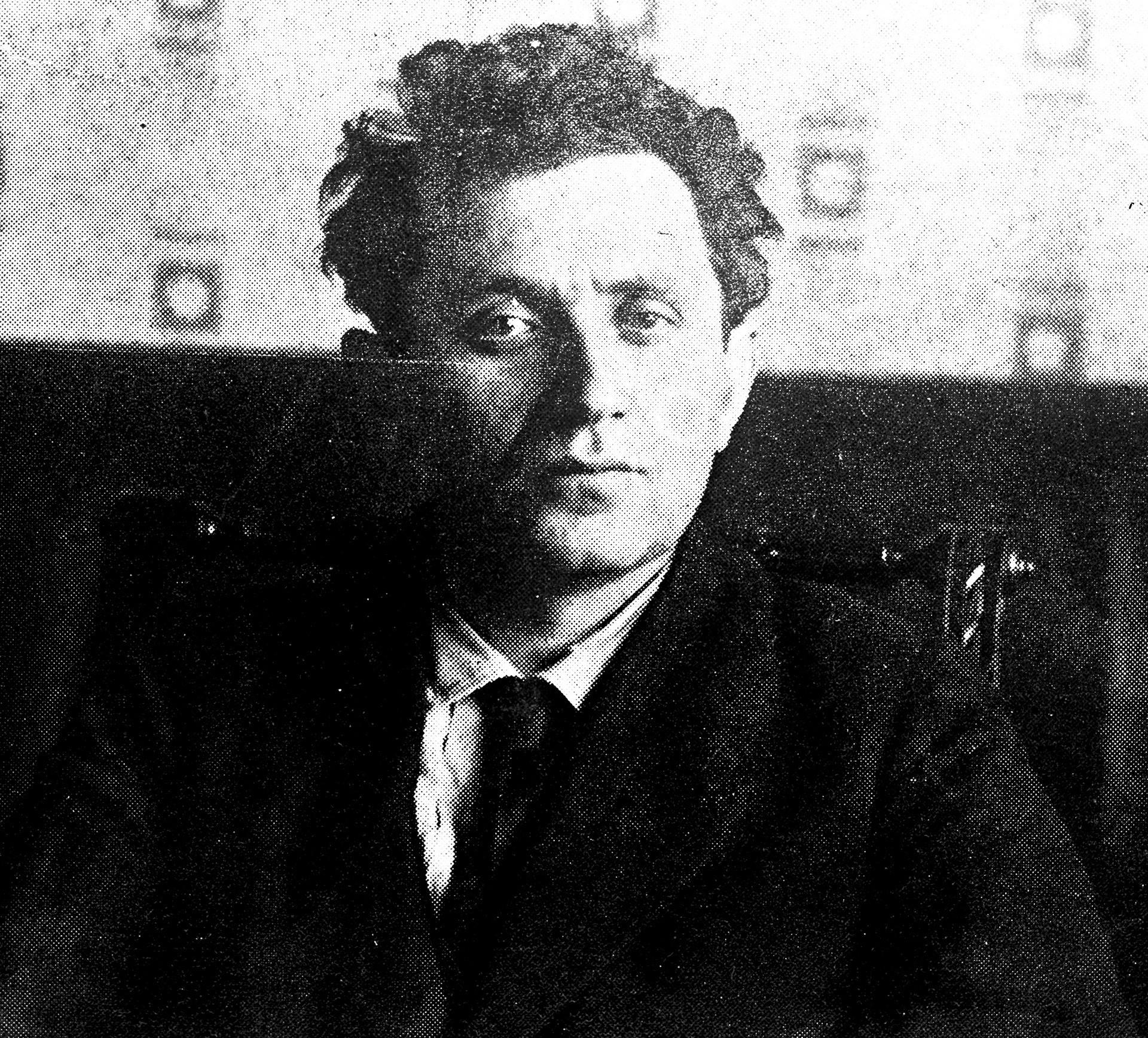 Grigorij Zinovjev, rođen kao Ovsej-Geršon Aronovič Apfeljbaum (1883. - 1936.)