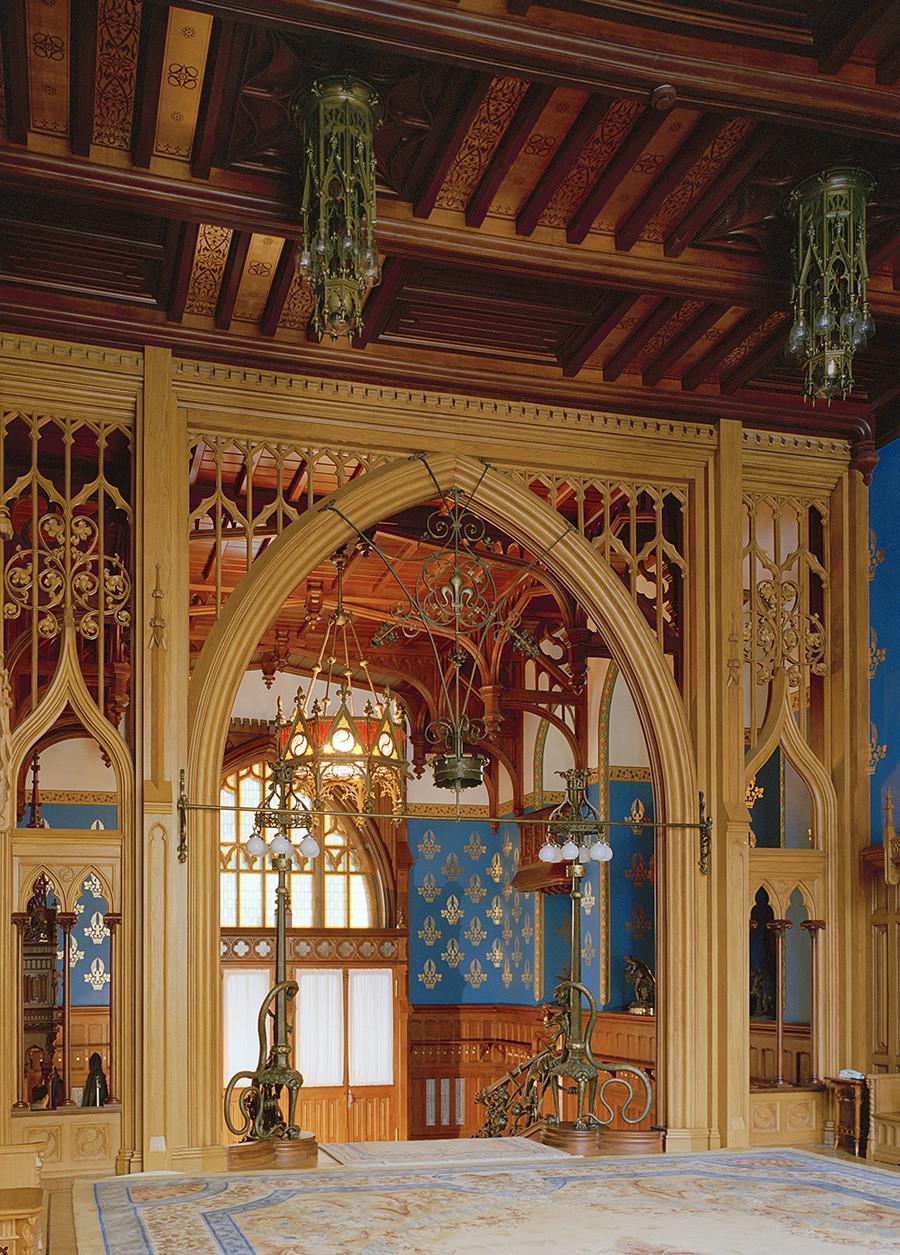 Interior de la mansión Morózov