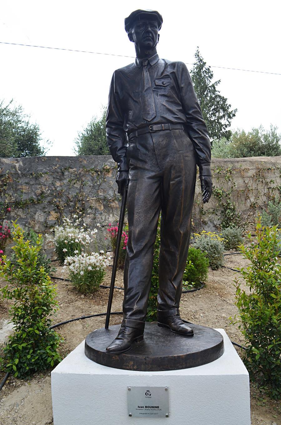 Statue d'Ivan Bounine à Grasse