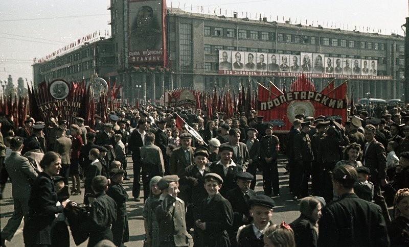 1 de mayo de 1948, Moscú.