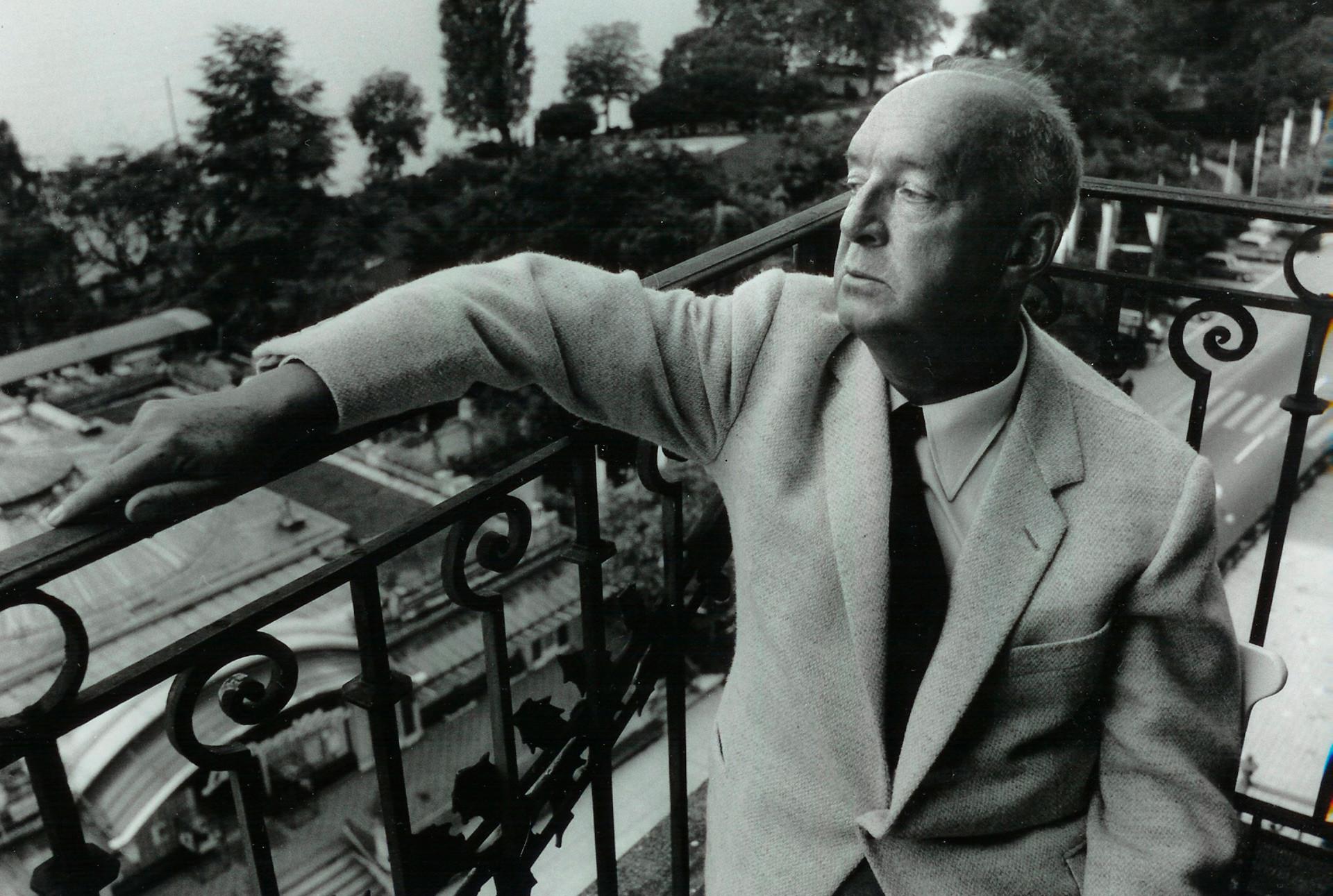Vladimir Nabokov u Švicarskoj, 1965.