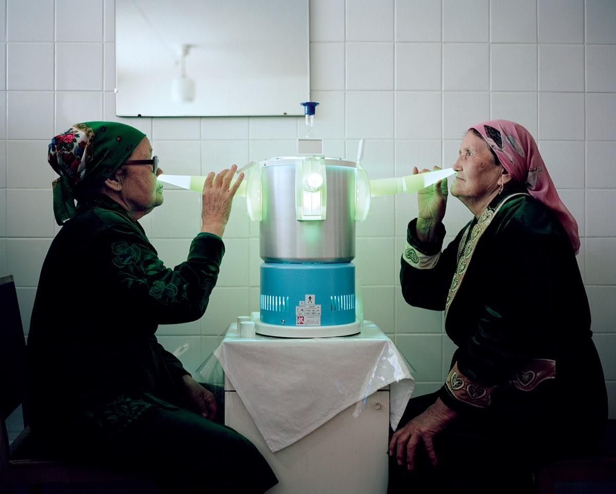 ミハイル・ソラルスキー撮影。サナトリウム「オーロラ」、 キルギスタン、2016年