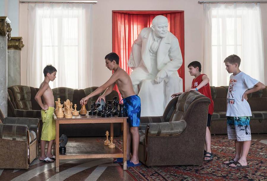ドミートリー・ルキヤノフ撮影。サナトリウム「アムラ・インターナショナル」、 アブハジア、2016年