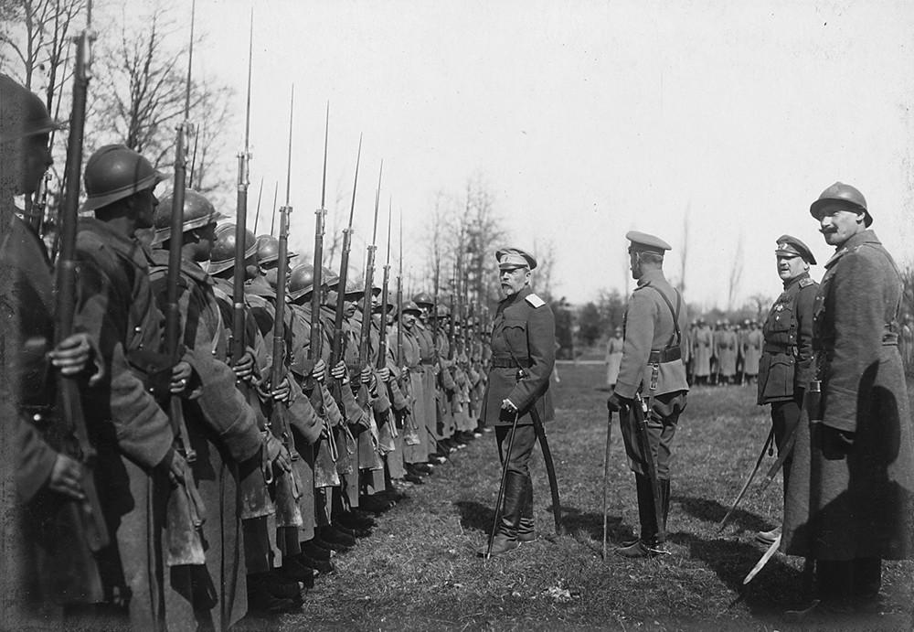 Le Corps expéditionnaire russe en France