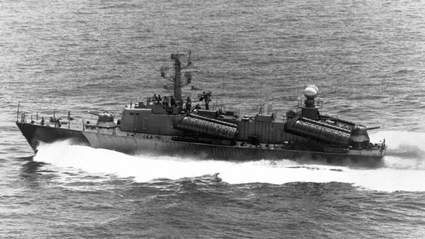 Osa II fotografiada por la Marina de EEUU en 1984.