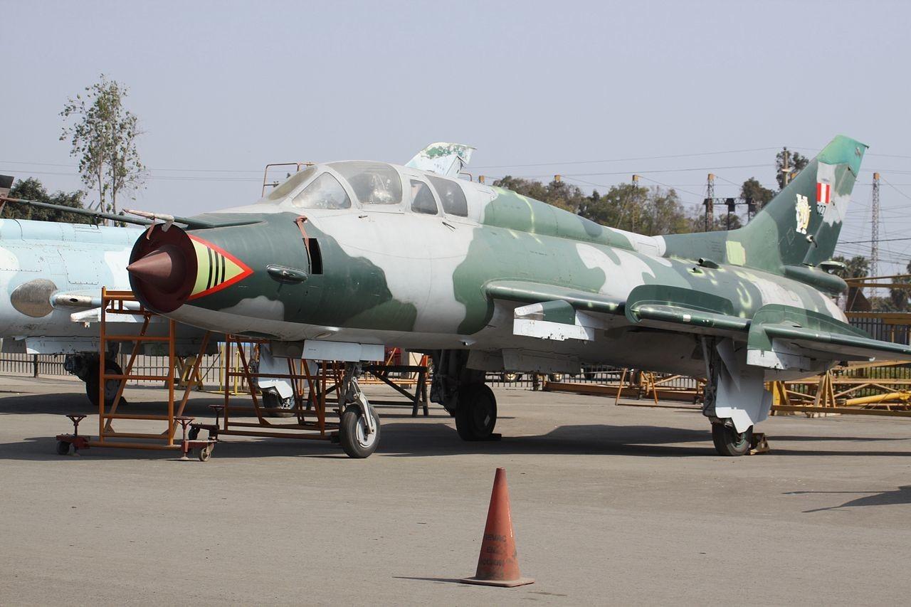 Su-22 peruano.