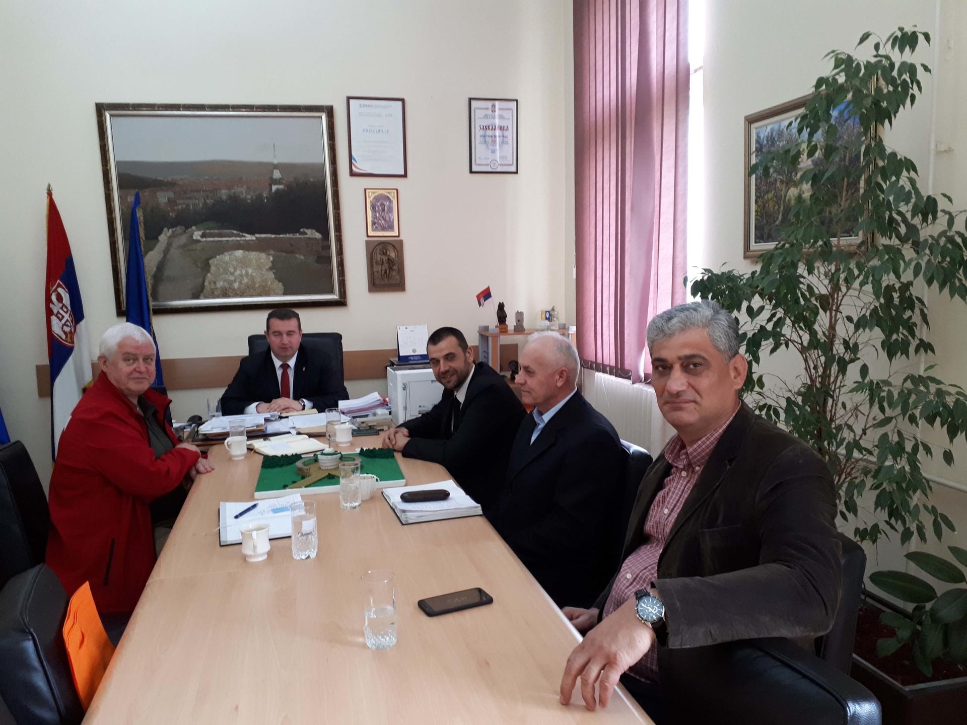 Представници Општине Прокупље у Српско-руском хуманитарном центру у Нишу