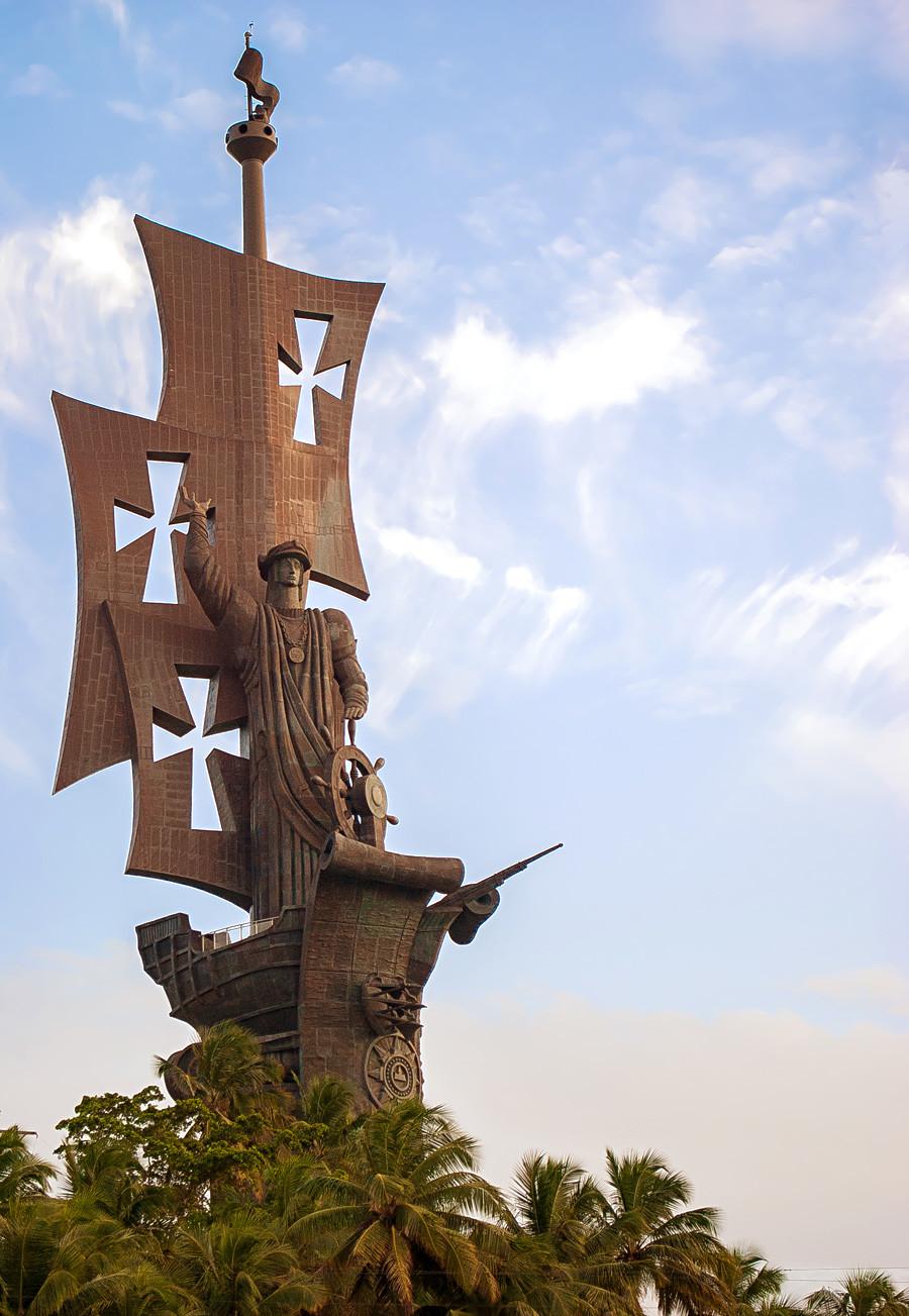 コロンブス像、プエルトリコ