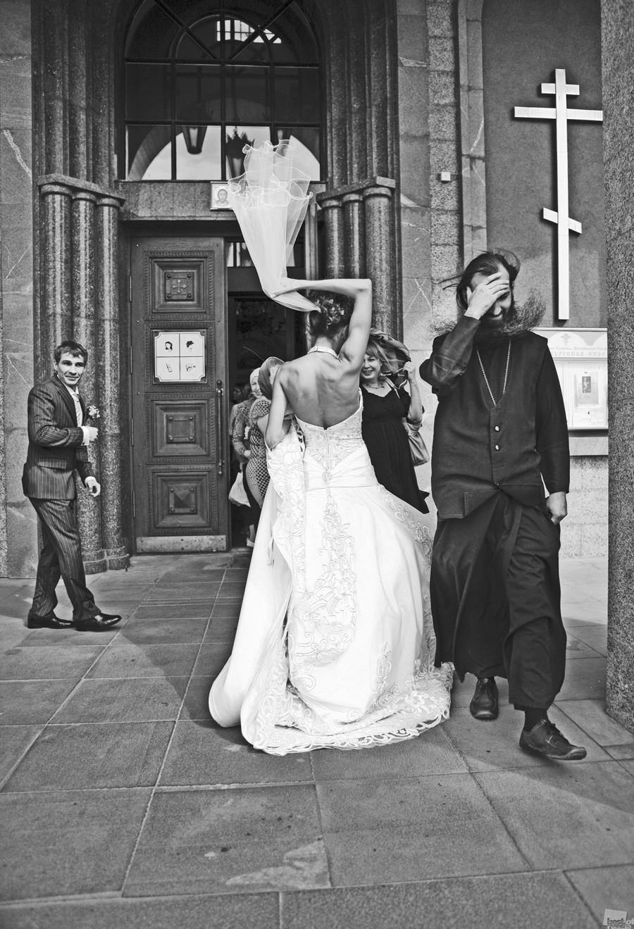 Poroka v Jekaterinburgu.