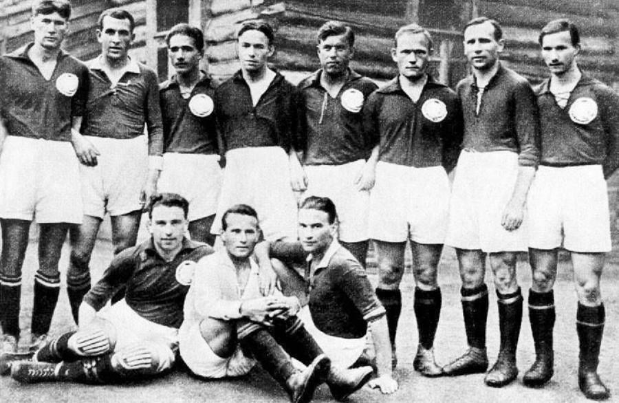 La selección de la URSS de 1924.