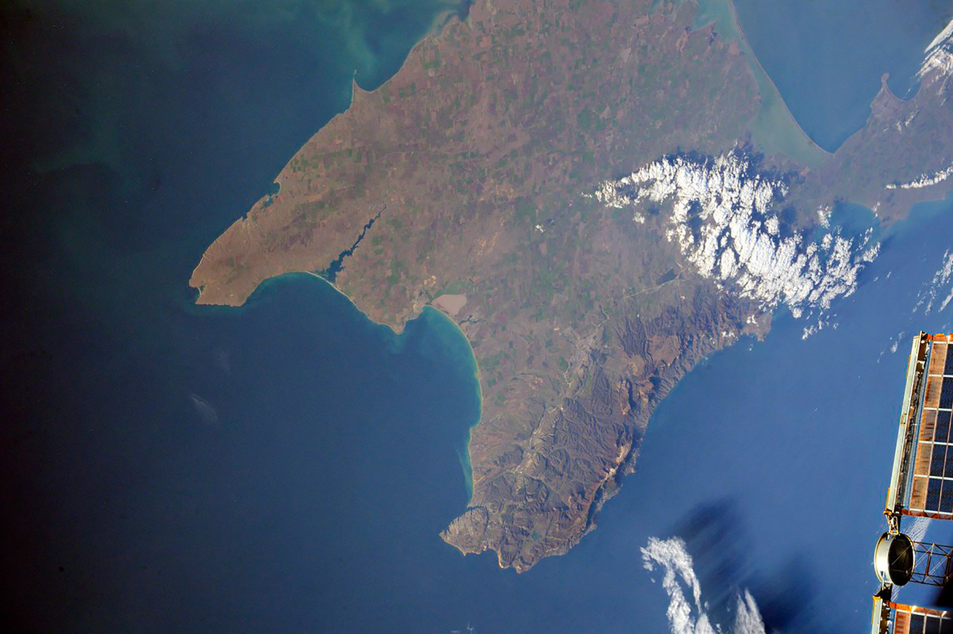 Crimea from space
