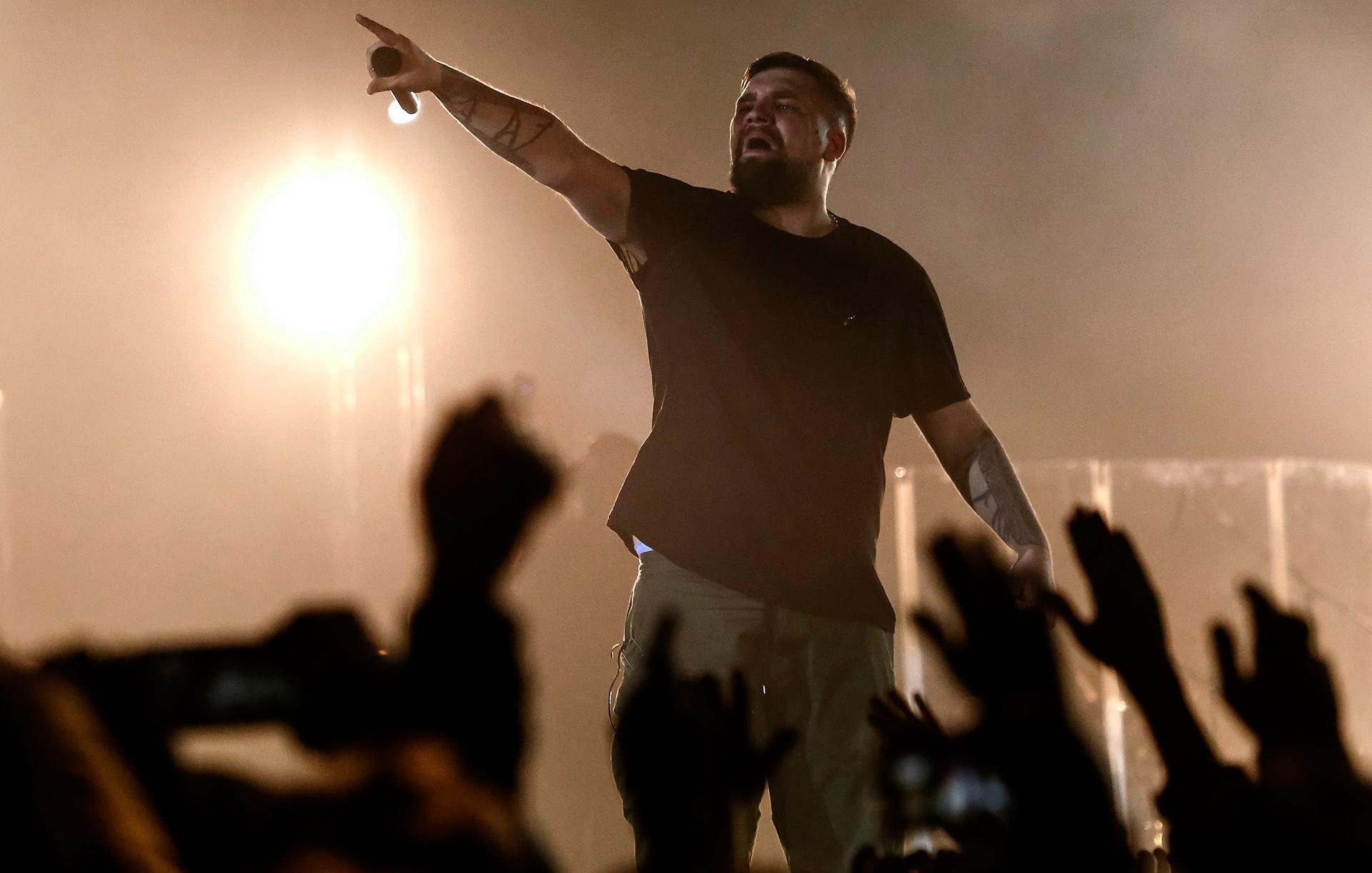 Basta (Vassíli Vakulenko) está entre os artistas de hip hop russos de maior sucesso