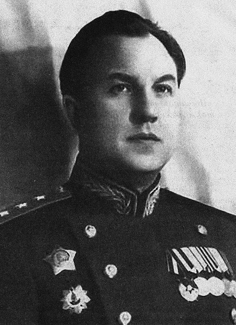 Viktor Abakumov (1908 - 1954). Like many other high-ranking officers of Stalin's era, he sent many people to death - but wounded up shot himself.