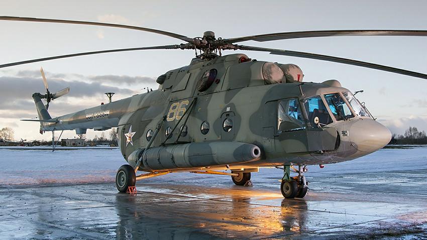Хеликоптер Ми-8