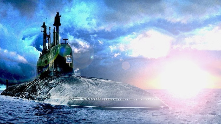 "Atomska raketna podmornica projekta 885 (08850) ""Jasen""."