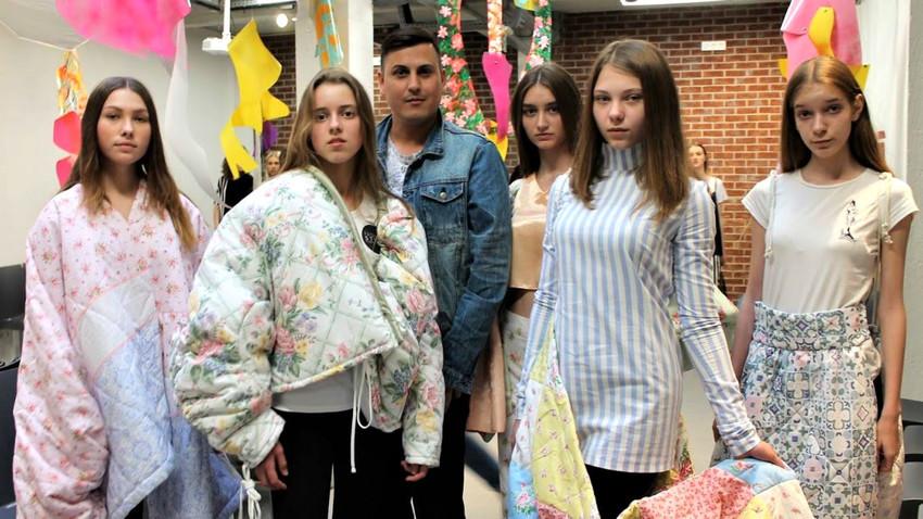 L'école-podium Fashion Style avec le directeur Igor Ivanov