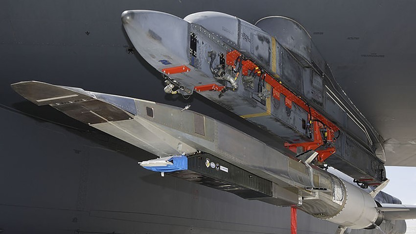 Ameriška raketa X-51A Waverider.