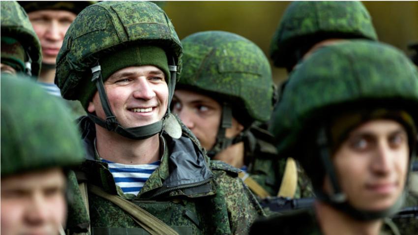 Rusija je ena izmed držav, ki namenijo največ BDP za vojaške potrebe.