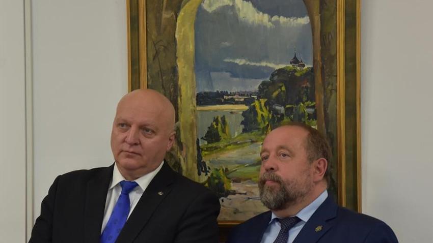 Pjotr Stronski (levo) in Aleksander Beglov (desno)