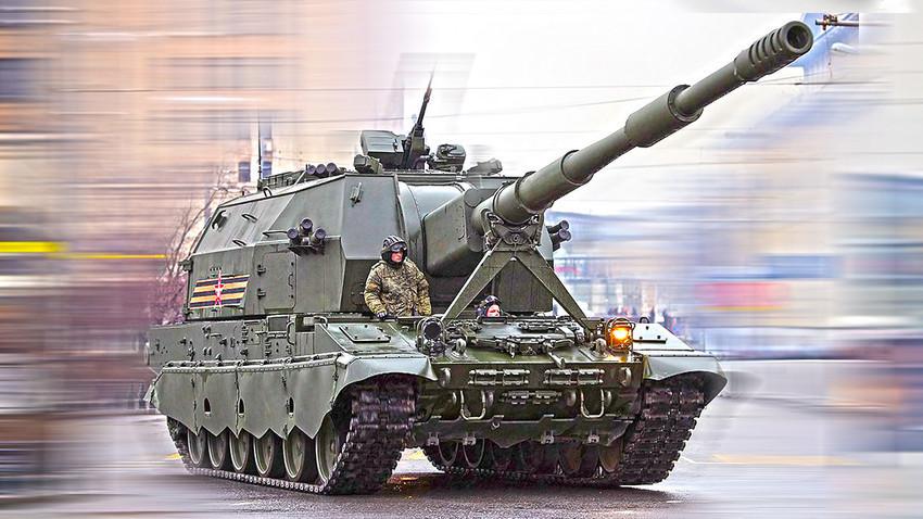"""Хаубица 2С35 """"Коалиција-СВ"""""""