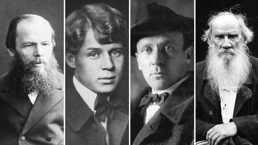 Four great Russian authors who suffered from deep obsessions.