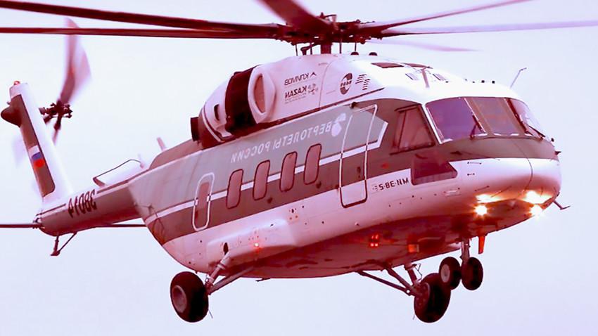 Базична варијанта средњег вишенаменског хеликоптера Ми-38
