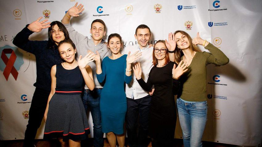 Српски студенти у Нижњем Новгороду