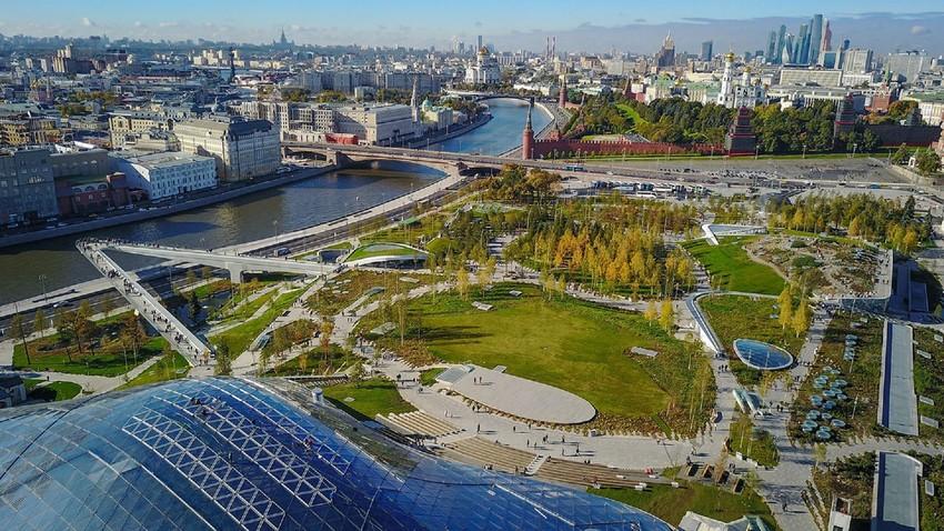 Neste ano, festival será realizado no Parque Zariadie, no coração de Moscou.