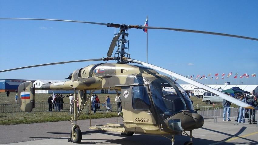 Ka-226T na sejmu Maks-2005.