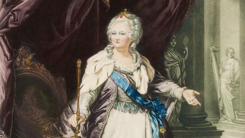 Katarina II. Velika (1729. -  1796.), ruska carica.