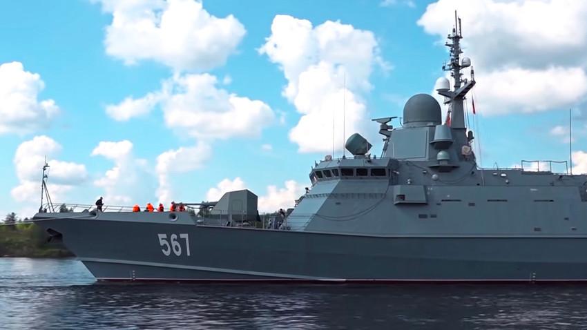 """Малиот ракетен брод """"Ураган"""" од проектот 22800 """"Каракурт"""""""