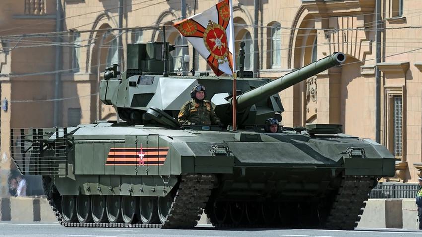 "ОБТ Т-14 ""Армата"""