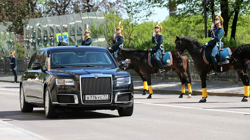 """""""Aurus"""", nova Putinova limuzina"""