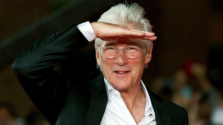 Richard Gere's most recent visit to Russia was last November when he came to Moscow to introduce the nominees for some music awards