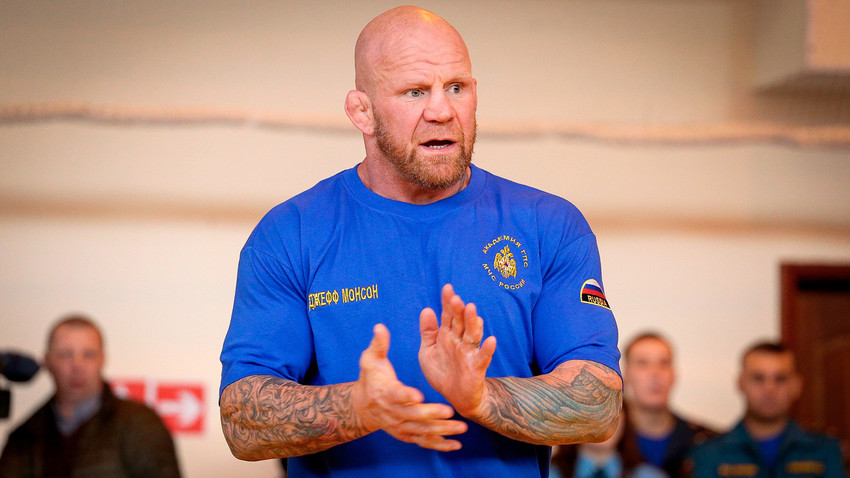 As a mixed martial arts fighter, Monson has held 85 fights, winning 60 of them