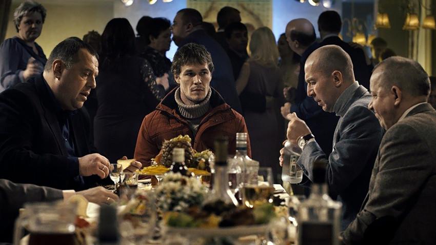 """Сцена из филма """"Будала"""", 2014."""