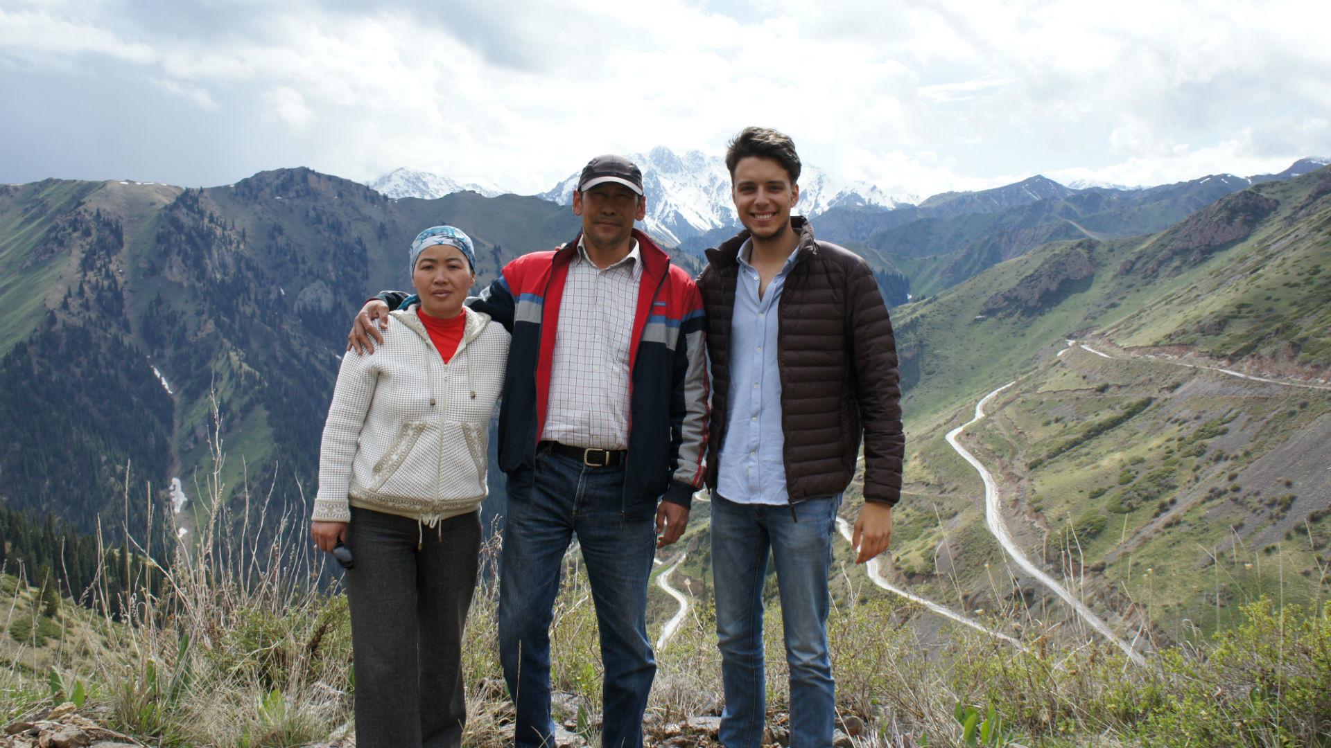 Alexandre dans les montagnes d'Asie centrale.