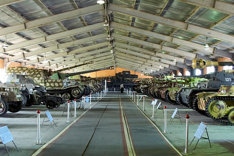 The Tank Museum in Kubinka
