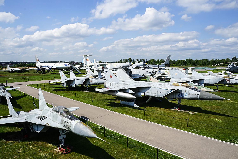 The Aviation Museum in Monino