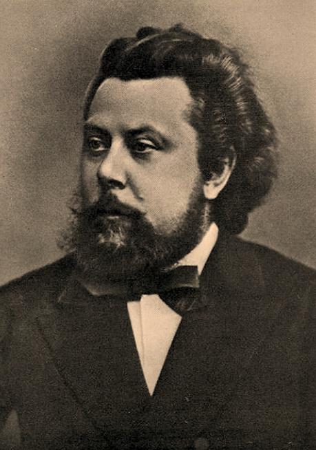Modest Musorgski, ok. 1870.