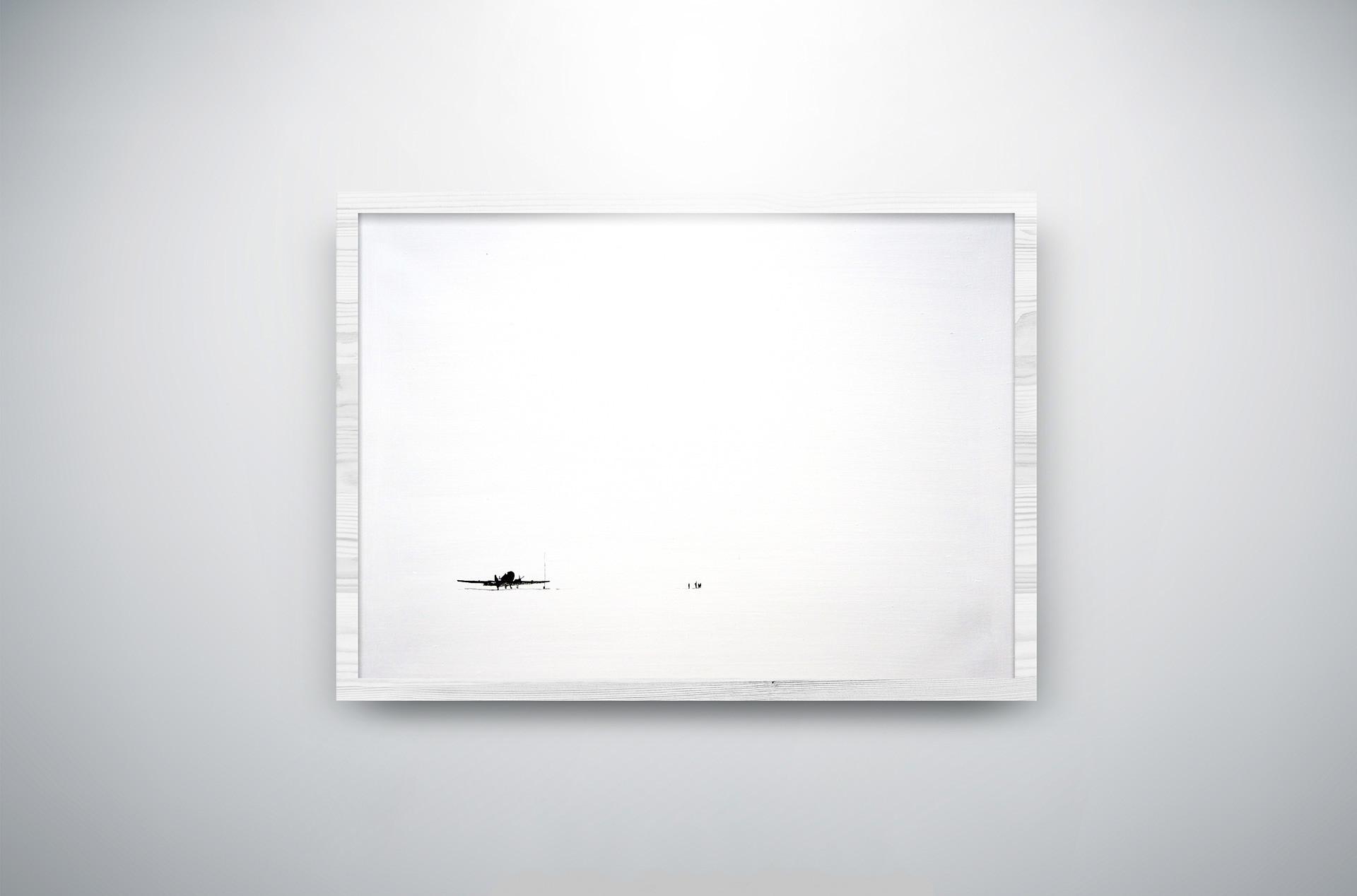 "Obra de las serie ""Exploradores polares"" de Alexéi Martins."