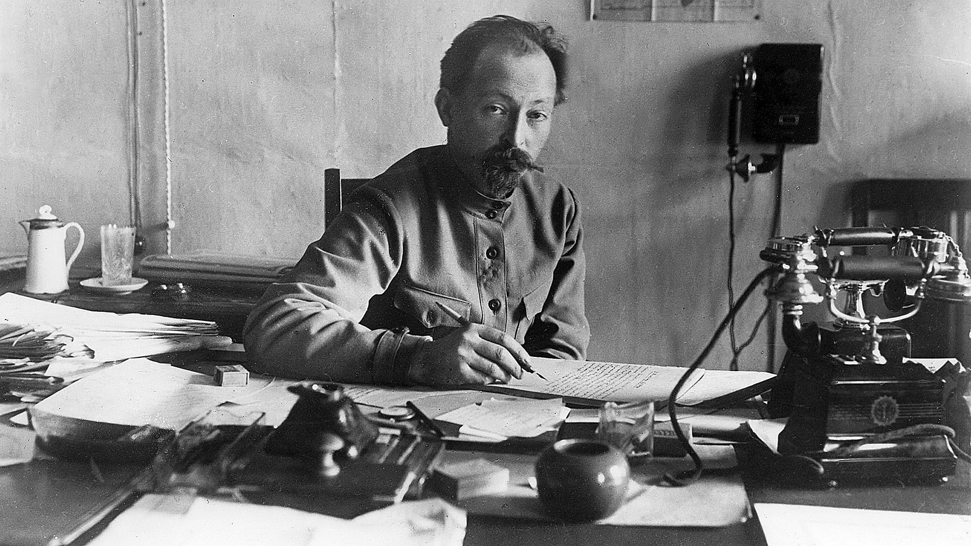 Felix Dzerzhinsky (1877 - 1926), the man who created the Soviet special services and still remains a symbol of the almighty VCheka - OGPU - NKVD - KGB.