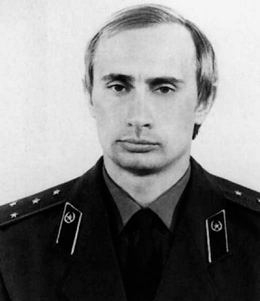 Vladimir Putin, a KGB officer, back in the 1980s.
