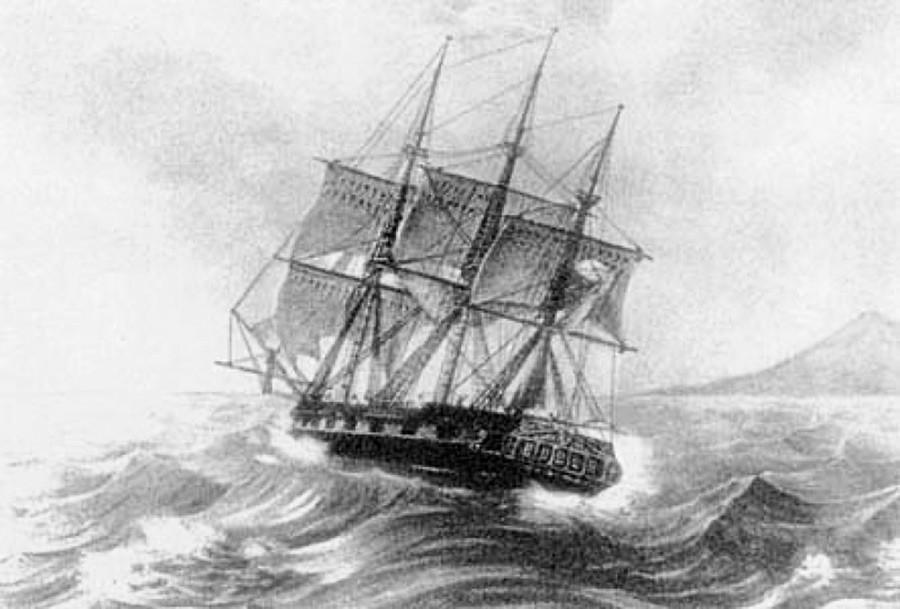 スループ船のナデジダ