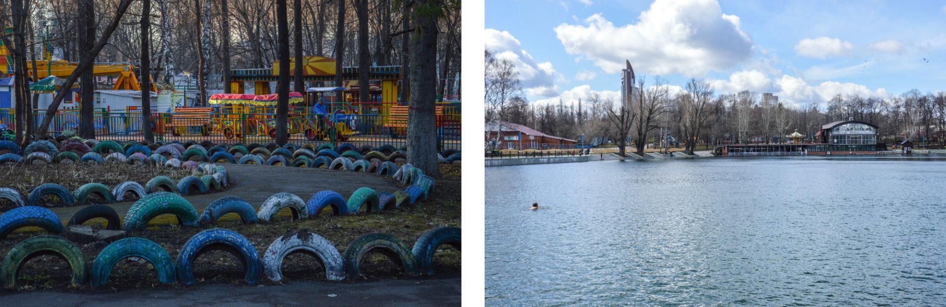 Le parc Iakoutov est un lieu idéal de détente, offrant de nombreuses distractions pour petits et grands.