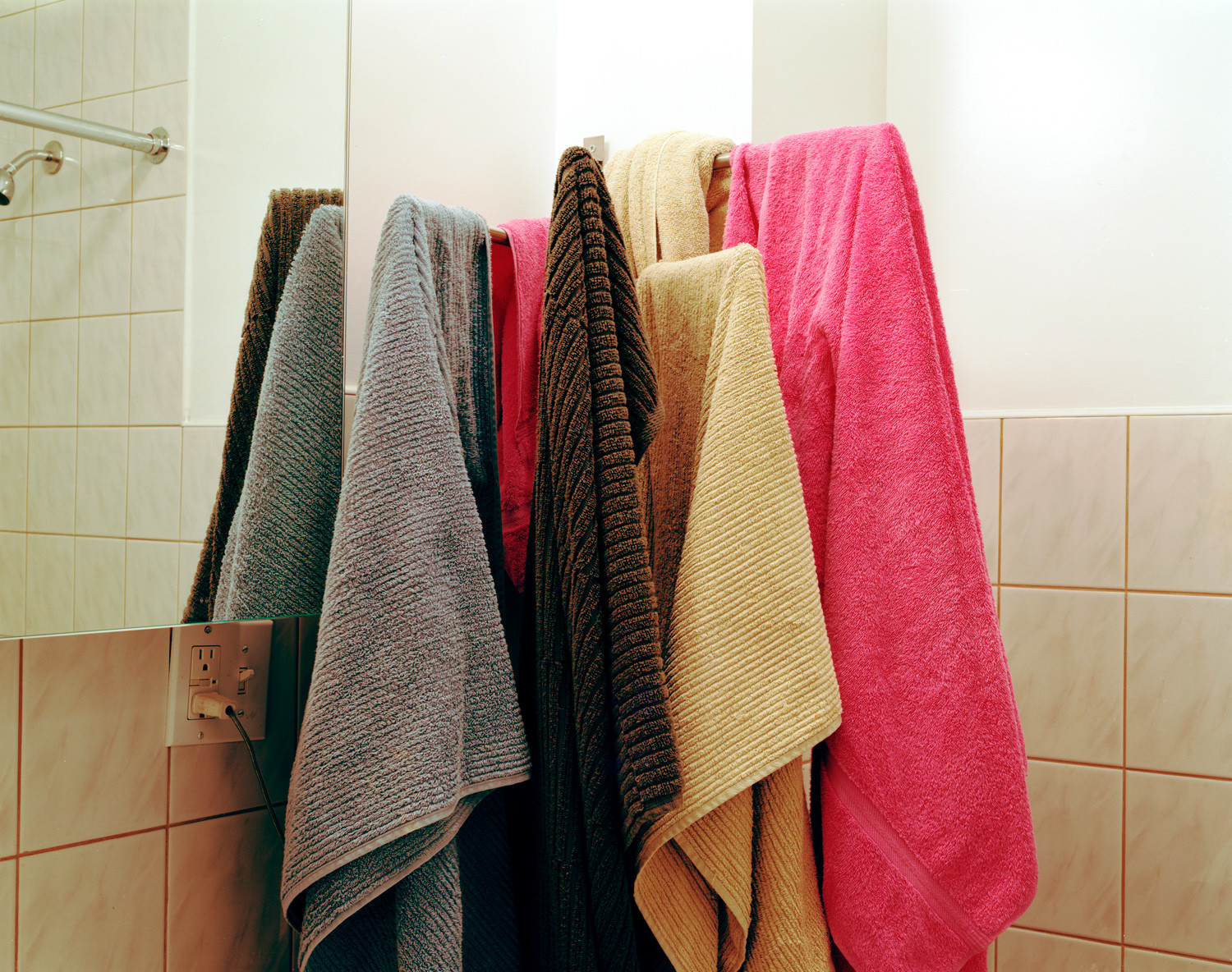 For some, sharing their towel with guests is not a problem but, for others, it is akin to sharing underwear.