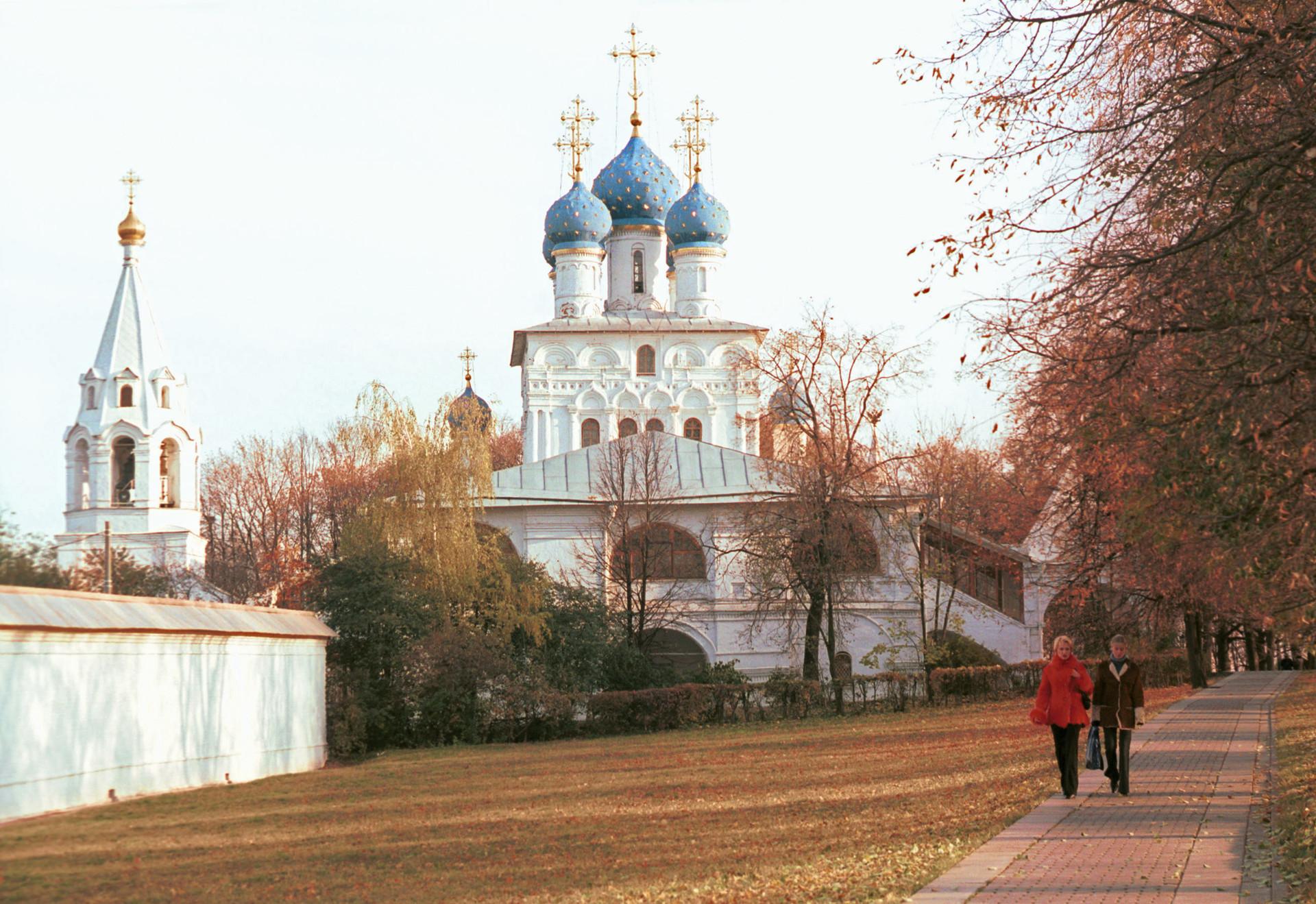 Iglesia del Icono de la Virgen de Kazán en Kolómenskoye.