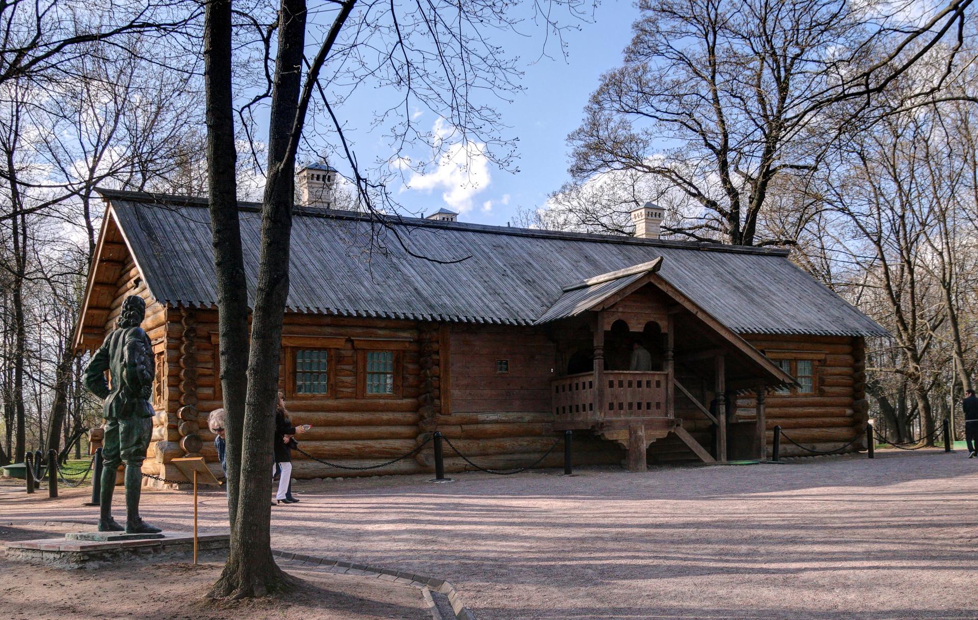 Casa de madera de Pedro el Grande en Kolómenskoye.