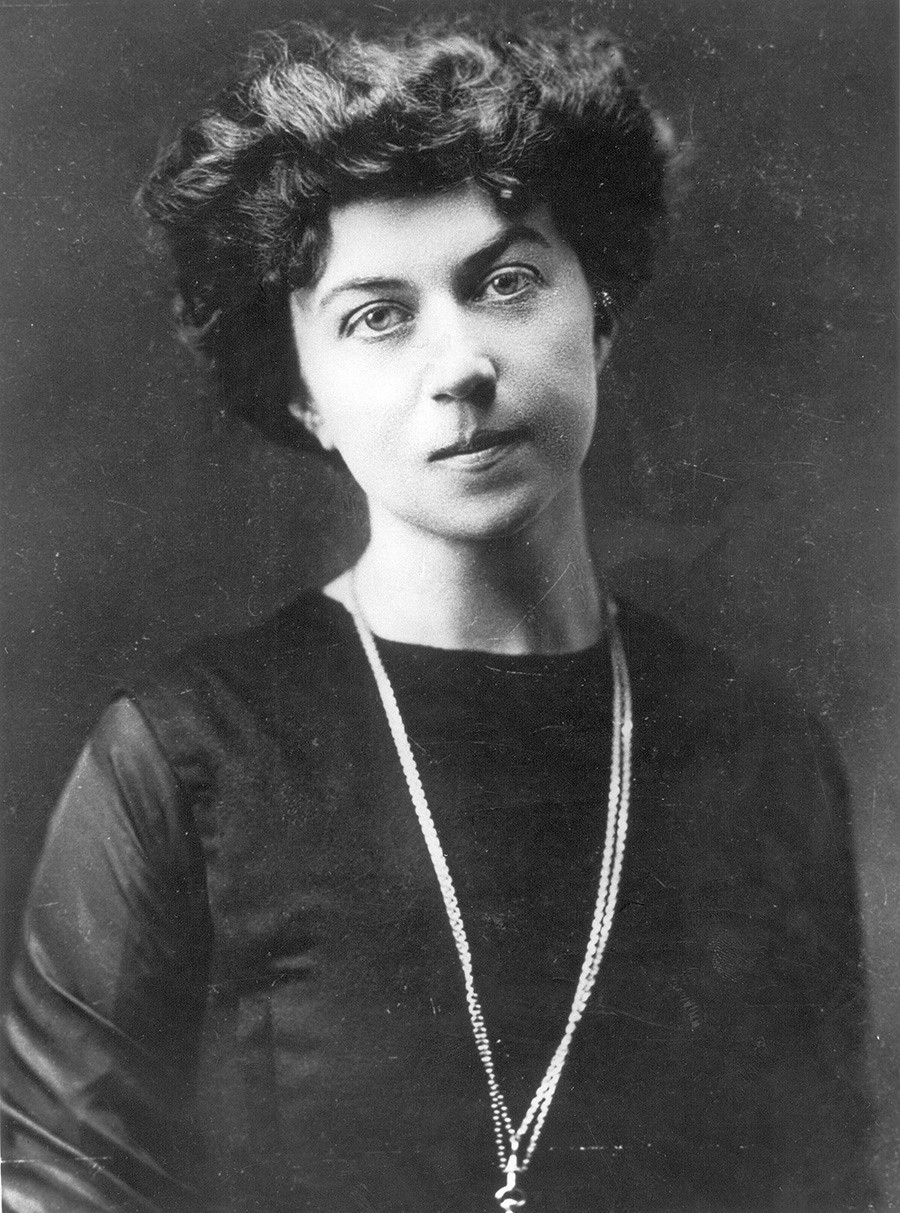 Alexandra Kollontai in her younger years